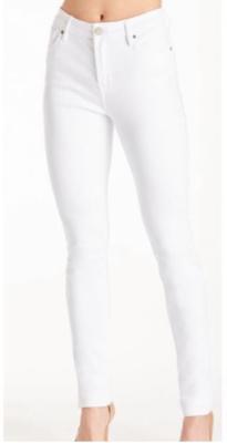 White Gisele Ankle Skinny
