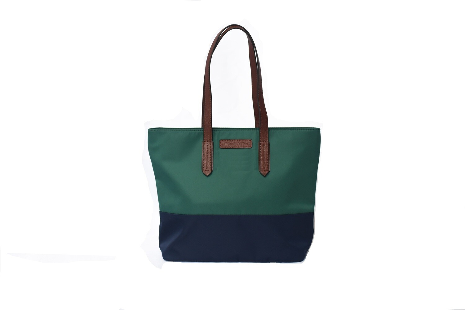 Tello & Rose Tote (Grn/Navy)