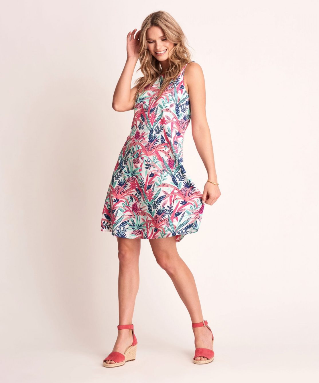Pineapple Meghan Dress