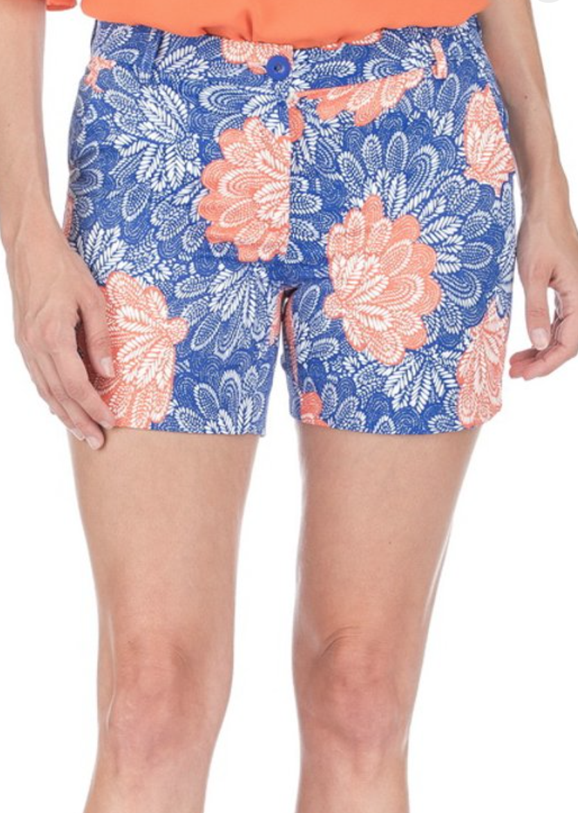 Royal Floral Short
