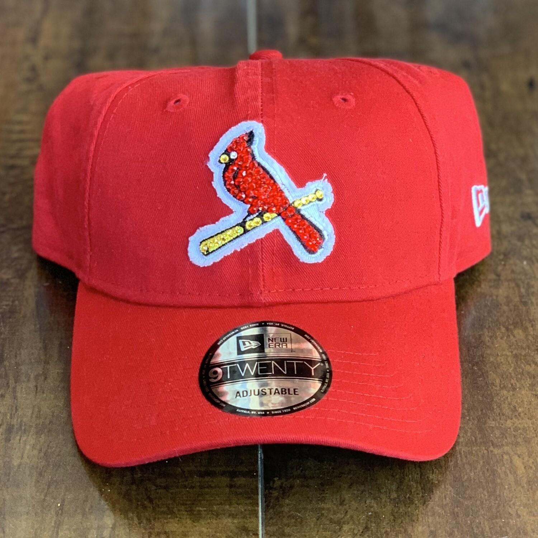 Red Vtg. Birds New Era Hat