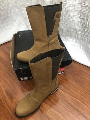 1275 Tan Sorel emilia mid elk/elan 9.5 womens boots NEW in box 071720