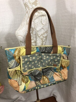 1199 key-per fossil diaper bag multi pastel floral and polka design 071420