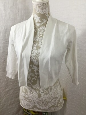 725 verve ami white cardigan womens size small 080720