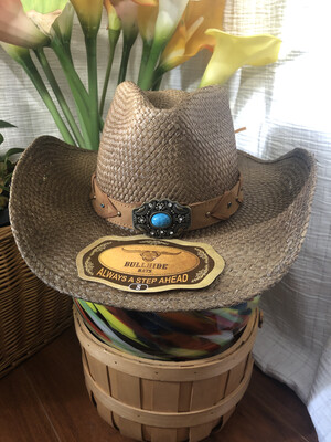 1277 run a muck NEW with TAGS NWT amnesia (brown) 2741 bullhide womens cowboy western hat size small 081920