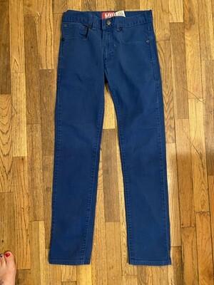 101a blue size 18 regular boys levi pants