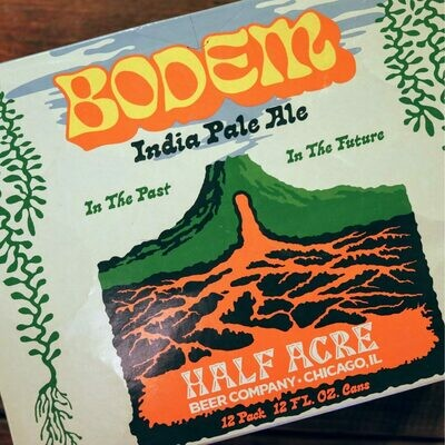 Half Acre Bodem IPA 12 FL. OZ. 12PK Cans