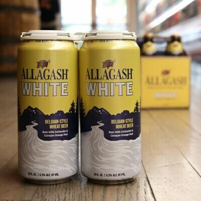 Allagash White Ale 16 FL. OZ. 4PK Cans