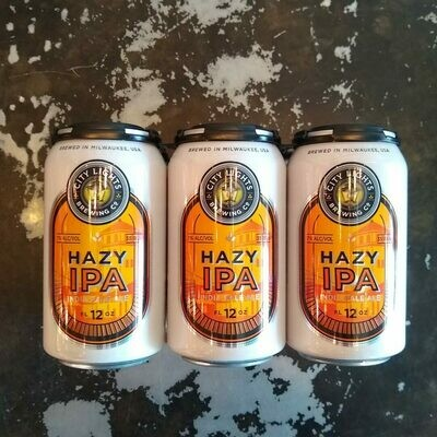 City Lights Hazy IPA 12 FL. OZ. 6PK Cans