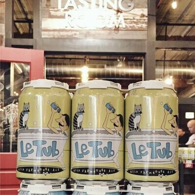 Whiner Beer Co. Le Tub Wild Farmhouse Ale 12 FL. OZ. 6PK CANS