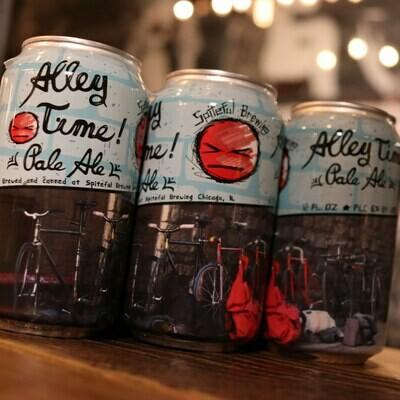Spiteful Alley Time Pale Ale 12 FL. OZ. 6PK Cans