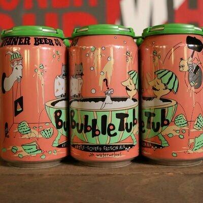 Whiner Bubble Tub Sour Saison w/ Watermelon 12 FL. OZ. 6PK Cans