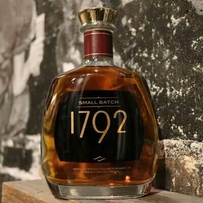 1792 Small Batch Bourbon Whiskey 750ml.