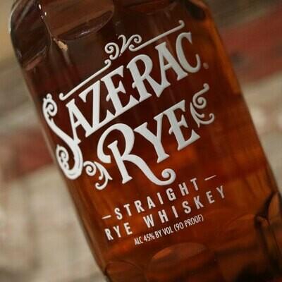 Sazerac Straight Rye Whiskey 750ml.