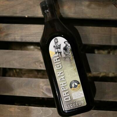 Orphan Girl Bourbon Cream Liqueur 750ml.