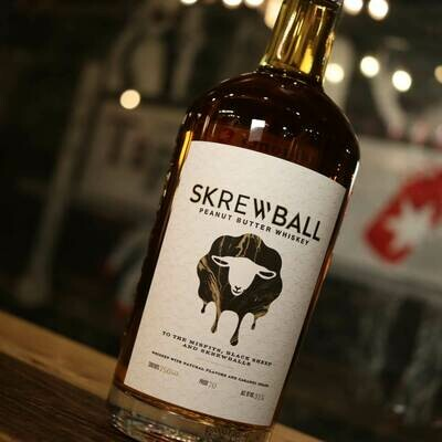 Skrewball Peanut Butter Whiskey 750ml.
