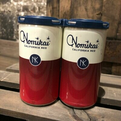 Nomikai Red Blend California 187ml. 4PK Cans
