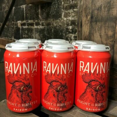 Ravinia Flight of the Rooster Saison 12 FL. OZ. 6PK Cans