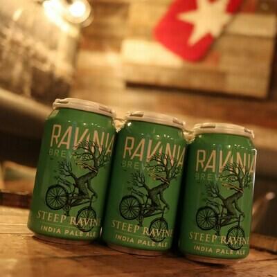 Ravinia Steep Ravine IPA 12 FL OZ 6PK Cans