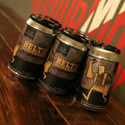 BuckleDown Belt Suspenders IPA 12 FL. OZ. 6PK Cans