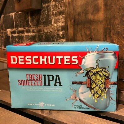 Deschutes Fresh Squeezed IPA 12 FL. OZ. 6PK Cans