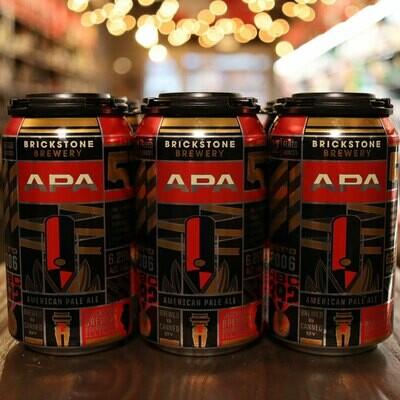Brickstone APA 12 FL. OZ. 6PK Cans
