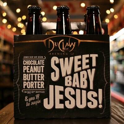 DuClaw Sweet Baby Jesus! Chocolate Peanut Butter Porter 12 FL. OZ. 6PK