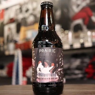 Prairie Noir Imperial Stout Aged in Whiskey Barrels 12 FL. OZ.