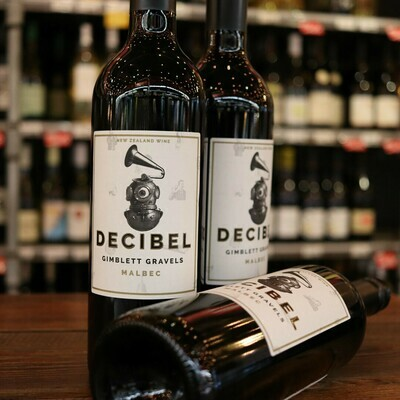 Gimblett Gravels Decibel Malbec New Zealand 750ml