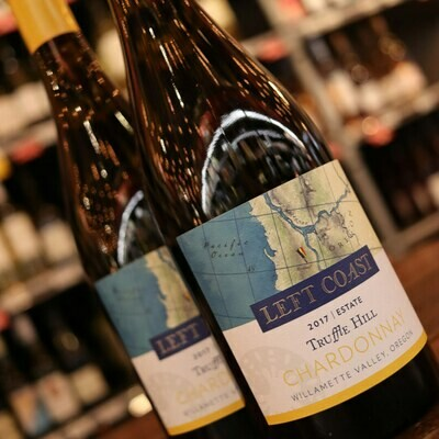Left Coast Truffle Hill Chardonnay Willamette Valley Oregon 750ml.