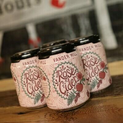 Vandermill Cider Rose 8 FL. OZ. 4PK Cans