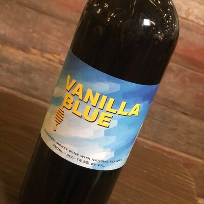 Misbeehavin Mead Vanilla Blue 750ml.