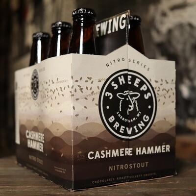 3 Sheeps Cashmere Hammer Nitro Rye Stout 12 FL. OZ. 6PK