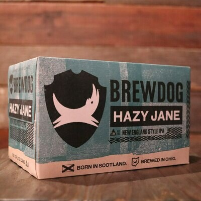 Brew Dog Hazy Jane NEIPA 12 FL. OZ. 6PK Cans