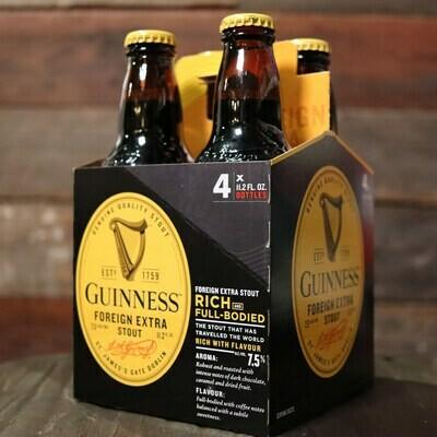 Guinness Foreign Xtra Stout 11.2 FL. OZ. 4PK