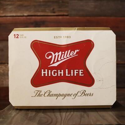 Miller High Life Lager 12 FL. OZ. 12PK Cans