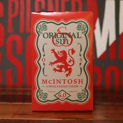 Original Sin Cider McIntosh 12 FL. OZ. 6PK Cans