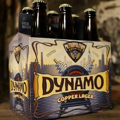 Metropolitan Dynamo Copper Lager 12 FL. OZ. 6PK