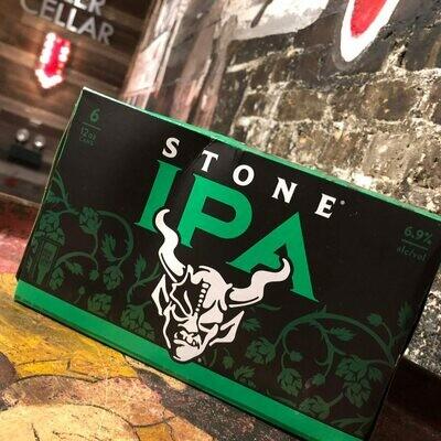Stone IPA 12 FL. OZ. 6PK Cans