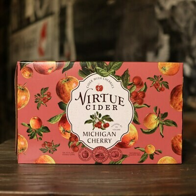 Virtue Cider Michigan Cherry 12 FL. OZ. 6PK Cans