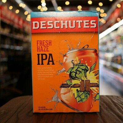 Deschutes Fresh Haze IPA 12 FL. OZ. 6PK Cans