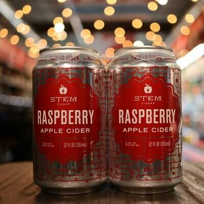 Stem Cider Raspberry 12 FL. OZ. 4PK Cans