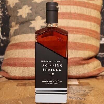 Treaty Oak Ghost Hill Bourbon Whiskey 750ml.