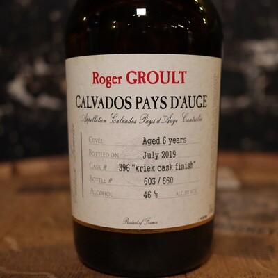 Roger Groult Calvados Pays D'auge 750ml.