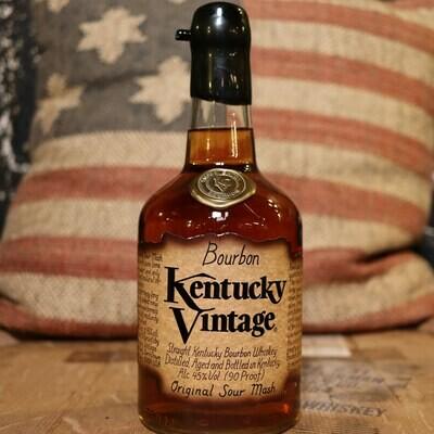 Kentucky Vintage Fully Mature Bourbon Whiskey 750ml.