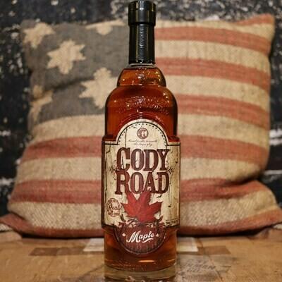 Cody Road Maple Bourbon Whiskey  750ml.