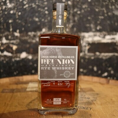 Union Horse Reunion Rye Whiskey 375ml.