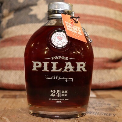 Papa's Pilar Never A Spectator Dark Rum 25.36 FL. OZ.