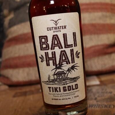 Cutwater Bali Hai Tiki Gold Rum 750ml.