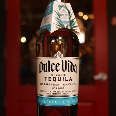 Dulce Vida Blanco Organic Tequila 750ml.